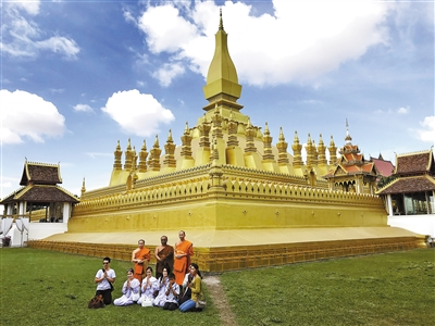 感受老挝的慢生活妙风景