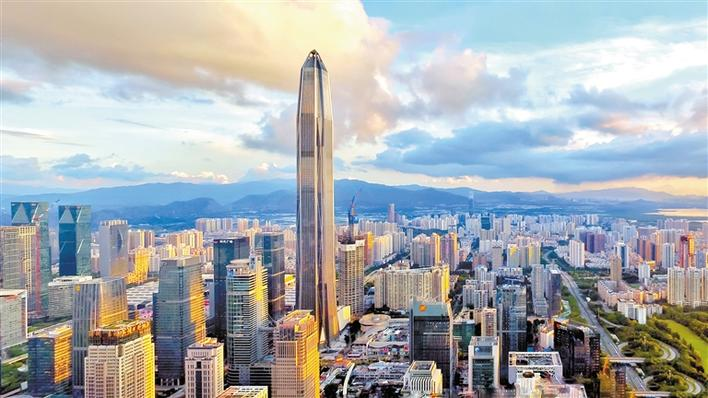 图②:平安国际金融中心,深圳cbd最高楼宇.