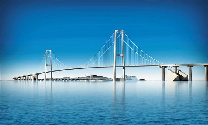 深中通道 桥梁工程月底开工