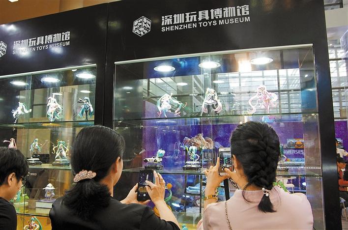 深圳玩具博物馆首次惊艳亮相
