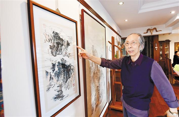 深圳画家周凯个展思逐风云在深圳美术馆举行  问道传统,寻觅山水画正脉