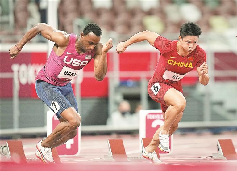 苏炳添创造亚洲纪录 100米决赛以9秒98获第六